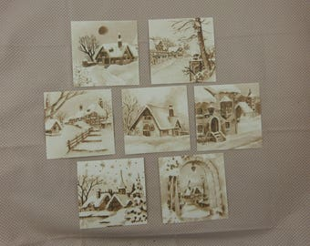 images of vintage Christmas for cardmaking