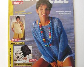 "Crochet ""Stitch for it"" magazine Diana # 15. March 1995.special accessories crochet."