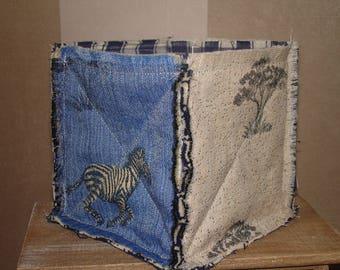 a tray cloth upholstery pattern Zebra