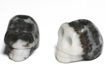 1pc - Perle de Pierre Mexican Jasper - skull skull 4558550029164 14x10mm