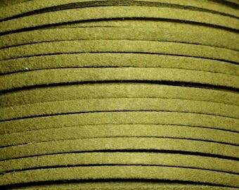 5 Metters - strap suede 3x1.5mm khaki 4558550008213
