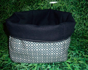 Blue reversible basket