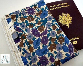 Protects Passport Liberty Poppy Daisy Blue