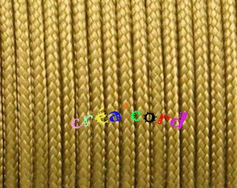 gold Paracord type I 2mm cord 2mm