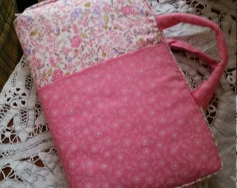 Pink on Pink Bible Cover