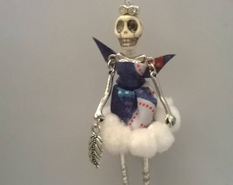 """Pendant necklace - Articulated Doll - """"Patotte Seya"""""""
