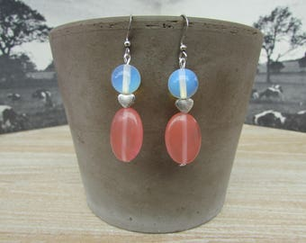 """Moon light"" earrings"