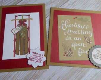 Greeting cards - set of 2