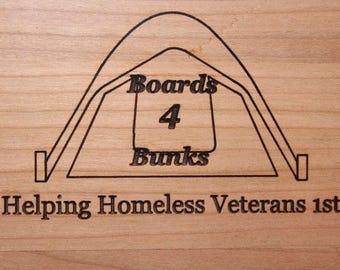 Medium - Boards4Bunks Cutting Board