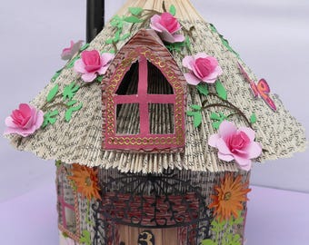 fairy house book fold