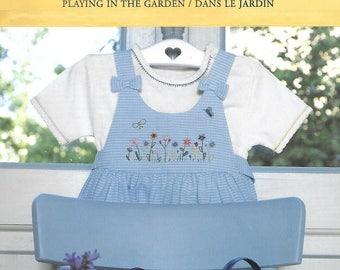 "Listing cross stitch ""in the garden"""