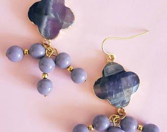 Clover earrings MJ010