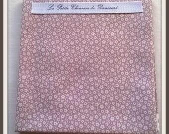 Tilda Lise Lilac fabric coupon