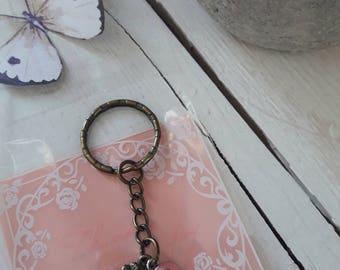 Keychain breast cancer awareness