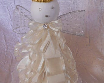 Angel for baptism or communion table decoration