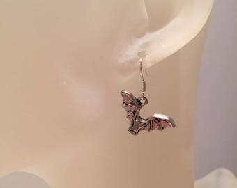 Mouse bat earrings