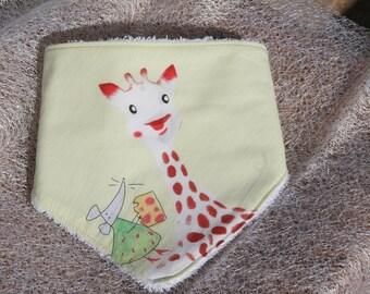 Anti-bavouille Sophie (1) baby scarf