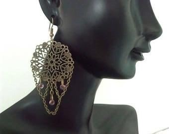 Dangling earrings - By Lily Creart'