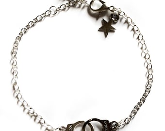 """Guilty Silver"" toned bracelet"