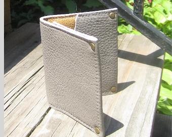 Italian leather Flap Wallet