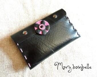 Flower inner tube wallet