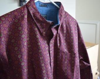 Vintage Chaps x Ralph Lauren Large Mens Shirt