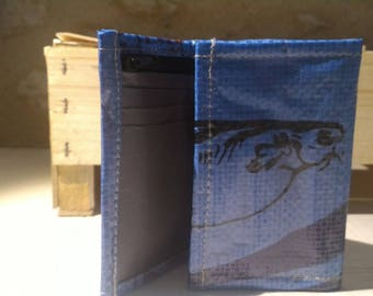 "Portfolio bag ""fish"" recycled power for... fish"
