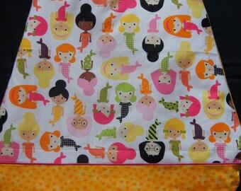 Sleeping bag / sleeping bag 0/6 month mermaids