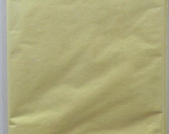 PAPER x10feuilles - color yellow clear REF. 142