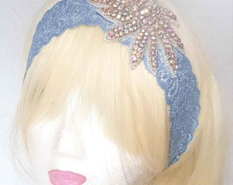 Magnificent headband headpiece wedding or cocktail