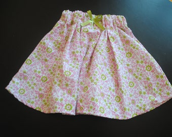 Flowery spring skirt * unique *.