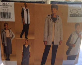 VOGUE WARDROBE Pattern #2327