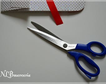 Scissors sewing TAKSUN 25 cm Blue or red