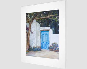 Art Print - Blue Door