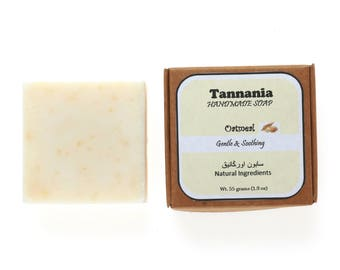 Tannania Handmade Oatmeal Natural Soap