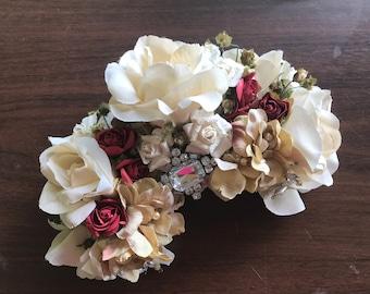 Beautiful wedding headdress