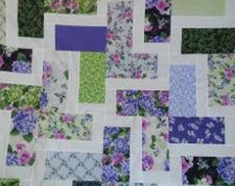 Multi Colored Flower Quilt