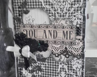 """Card """"You and Me"""""""