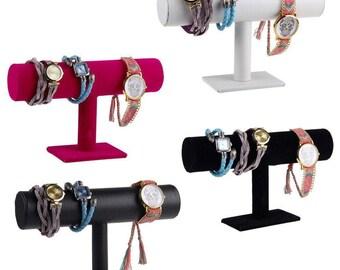 1 display holder Stand in black velvet bracelet 23.5 cm within 15 days