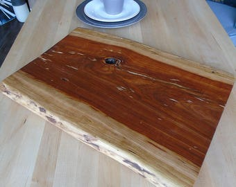 Handmade cherry cutting board, serving tray