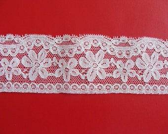 Lace white 6 cm wide - 6.75 m