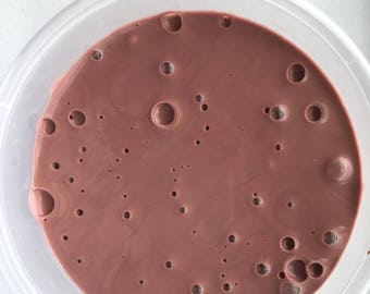 chocolate slime ( caramel scented) 10oz
