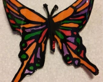 Set of 3Butterfly Sun-catchers