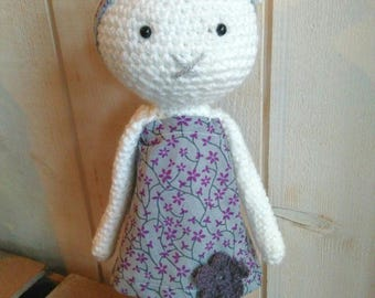 cute cat doll * made by crochet