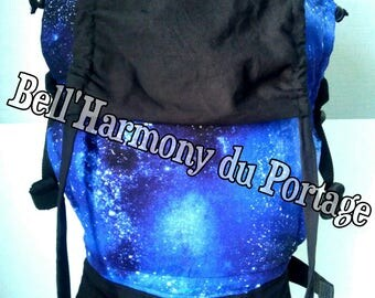 PREFORMED blue cosmos physiological baby carrier