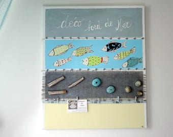 decorative painting, painting and customizing sea! and jumble.