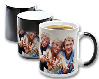 Magic mug personalized with your photo