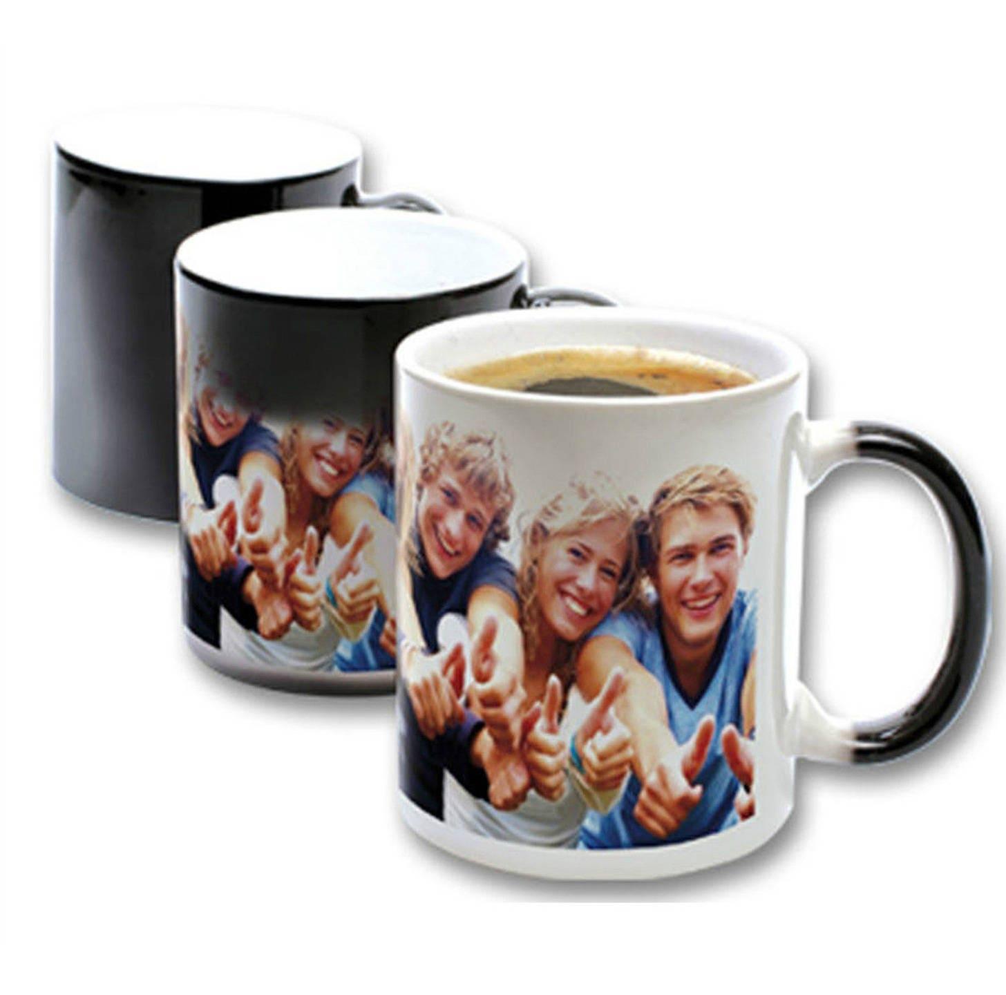 mug magique personnalis avec votre photo. Black Bedroom Furniture Sets. Home Design Ideas