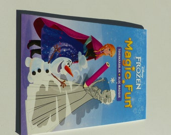 Magic block of 16 designs to discover snow Queen