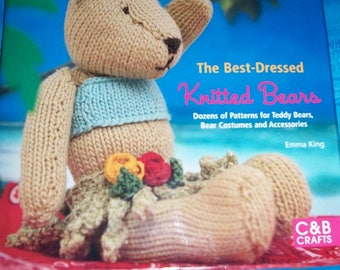 Book written in English The best dressed knitted bears